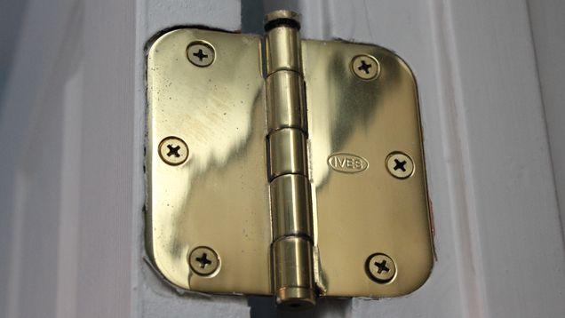 Fix A Droopy Door With A Few Hidden Screws Home Repairs Doors Home Maintenance