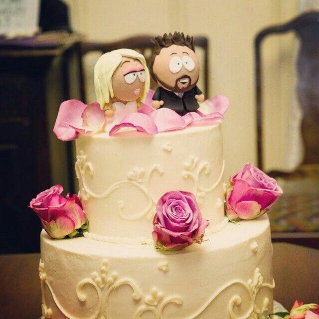 At the event Custom South Park cake topper by Christina Patterson ...