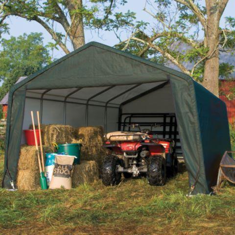 Shelterlogic Landowner Series Garage In A Box 12 Ft W X