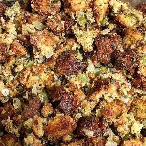 Pork King Good Pork Rind Crumb Keto Thanksgiving Stuffing
