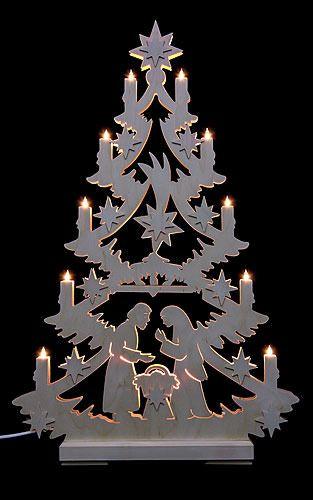 lichterspitze christbaum 70x46x5 5cm von michael. Black Bedroom Furniture Sets. Home Design Ideas