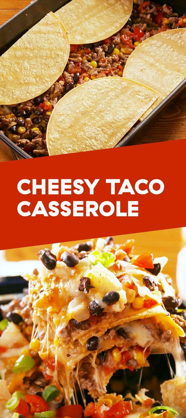 Cheesy Taco Casserole images