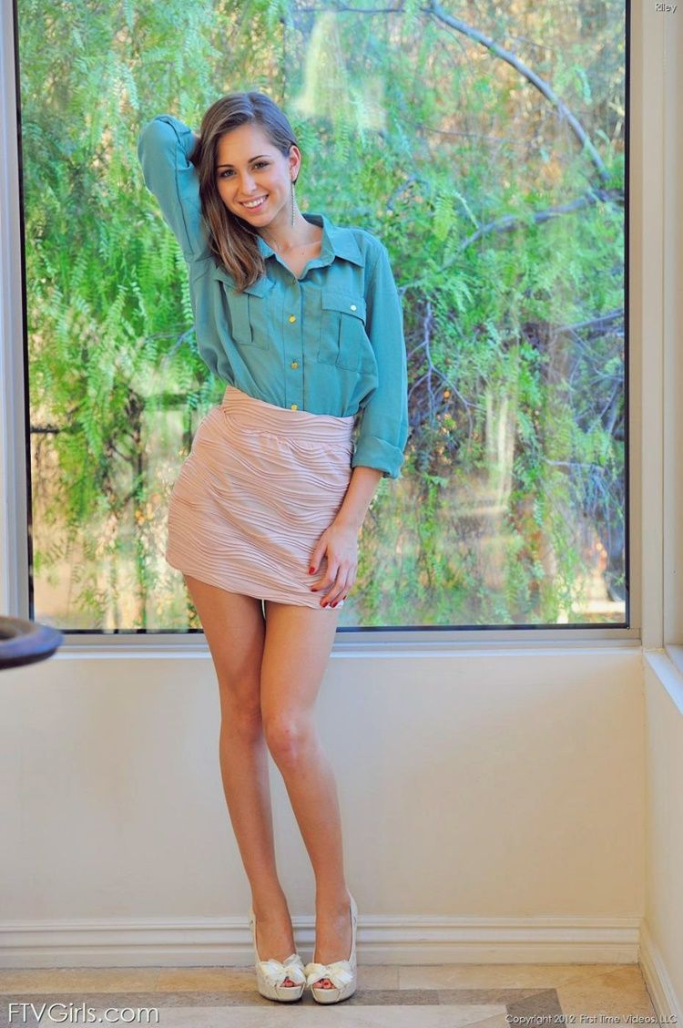 ftv tight skirt Riley Reid Gallery Young Riley Pencil Skirt by FTV Girls