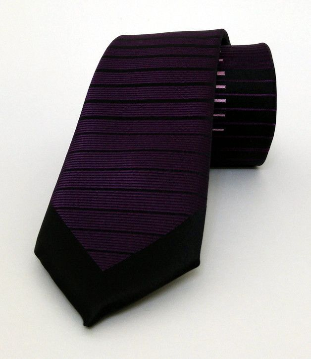 Purple Mens Tie 6 cm (2,36 #handmadeatamazon #nazodesign
