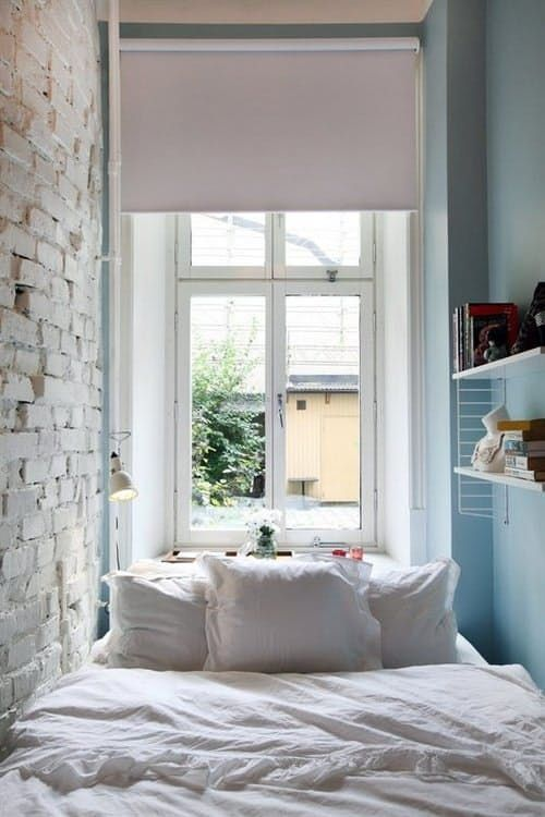 A Gallery of Inspiring Small Bedrooms Bedrooms, Small spaces and