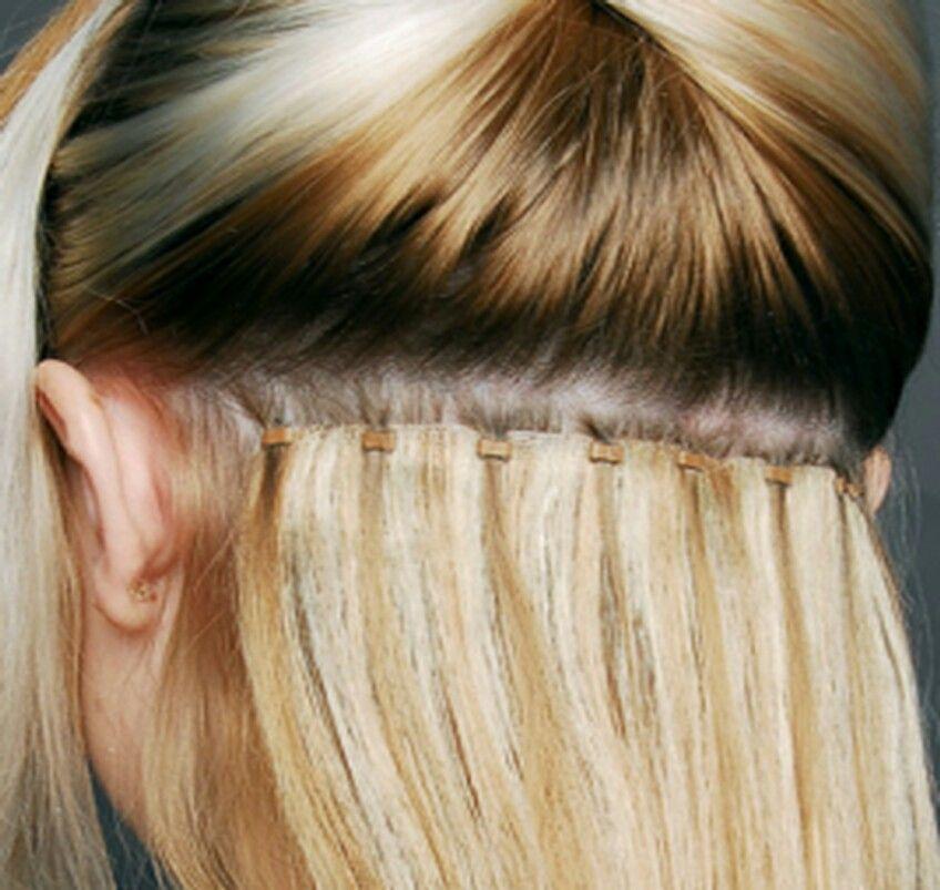 Beaded Weft Hair Beauty Pinterest Hair Style