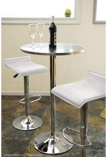 Adlai Adjustable Pub Table Products Pinterest Table Table