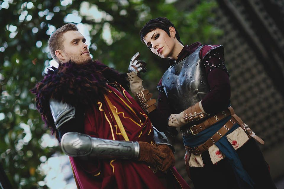 Gillykins is Cassandra - Jeff is Cullen | Photo by Anna Cosplay Photography