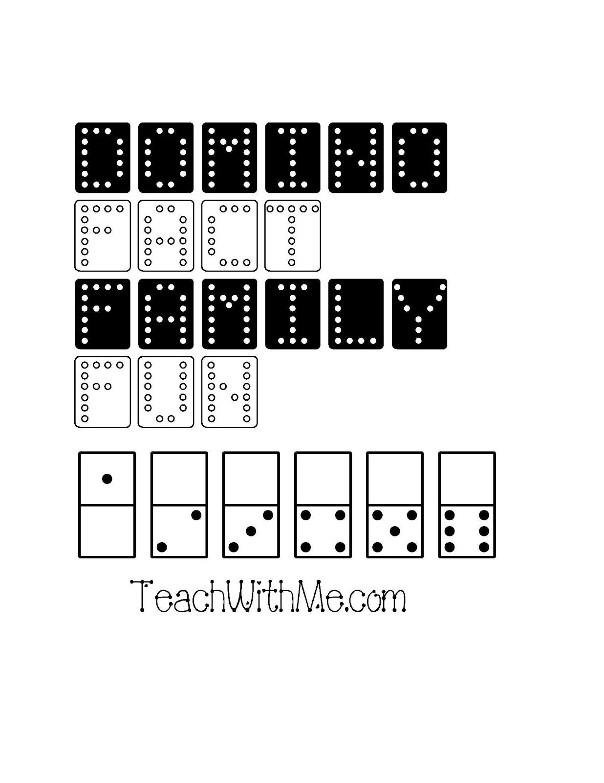 Fact Family Domino Packet With Images