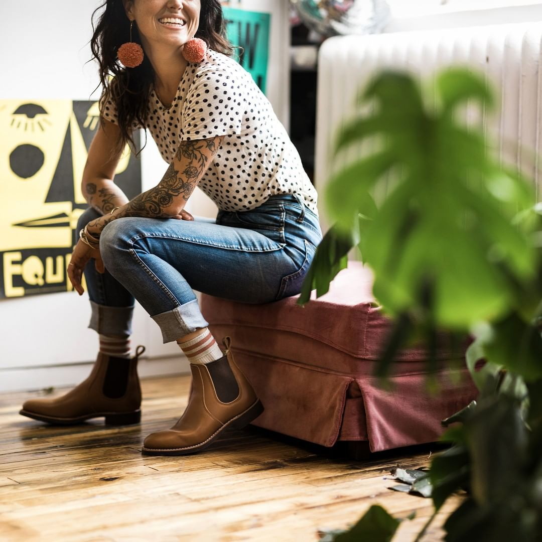 """Red Wing Heritage Women on Instagram  """"The 6-Inch Chelsea is new and is the  perfect Indoor Outdoor option for fall.  redwingwomen  redwingheritage"""" 89d570364421d"""