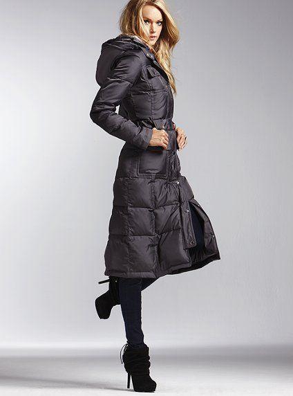 Long Puffer Coat-Victoria's Secret