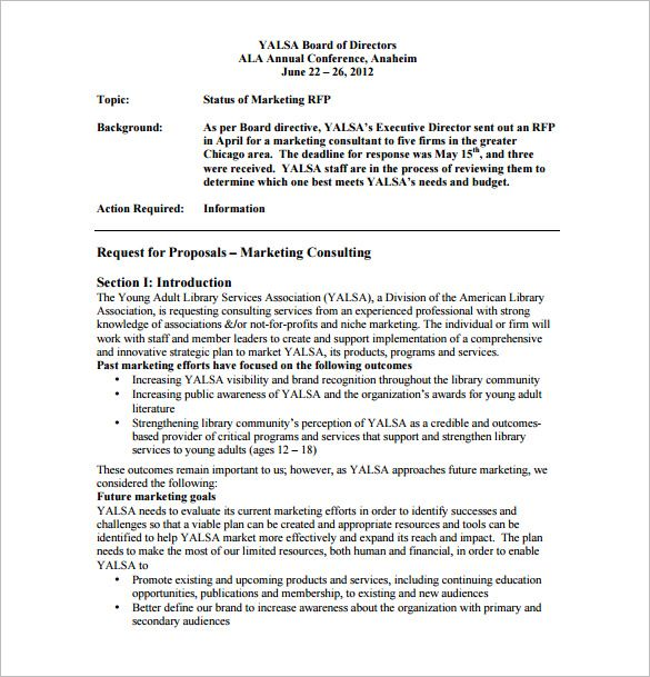 Proposal Template Consultancy Free Resume Cover Consulting