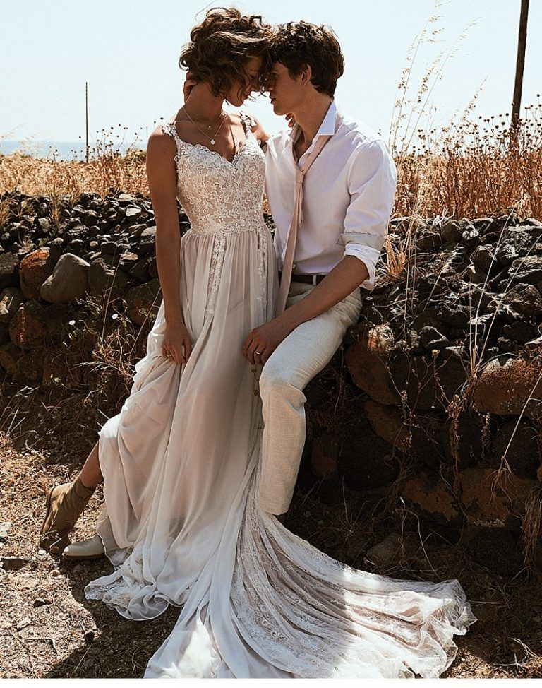 Sexy country western wedding dress fashion dresses