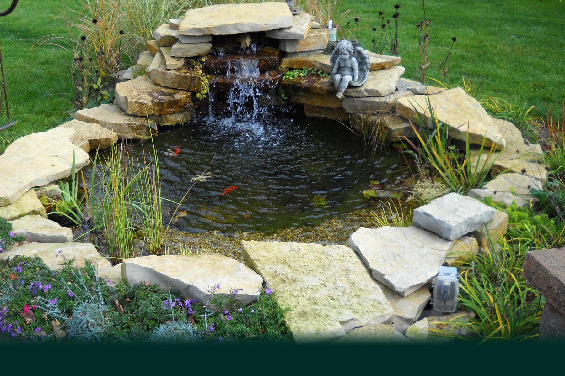 Pin By Connie Dill On Landscaping Pools Garden Pond Design