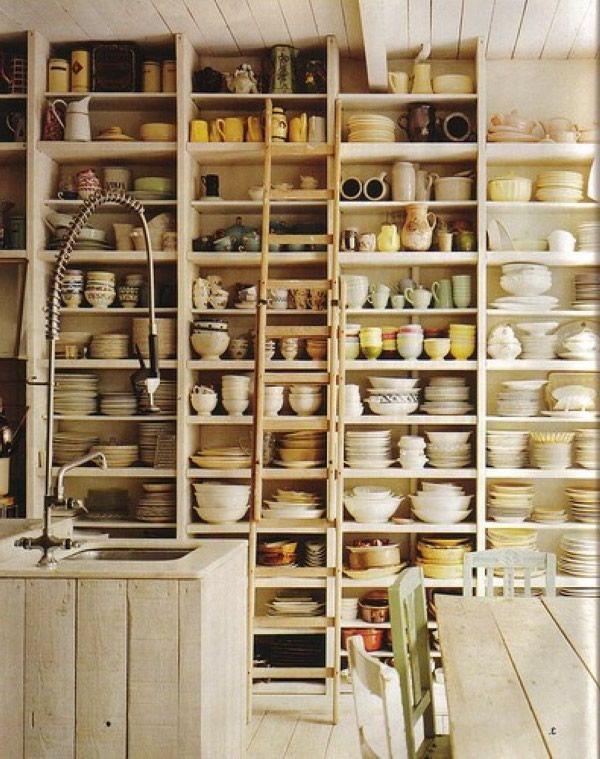 Inspirationen für offene Küchen Regale-4 | Küche | Pinterest | {Küchenregale 27}