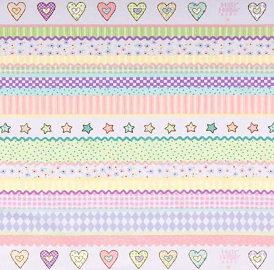 Multicolor Gordijn Wrinkle Hearts | HHDINGLE.34.140 | Kindergordijnen