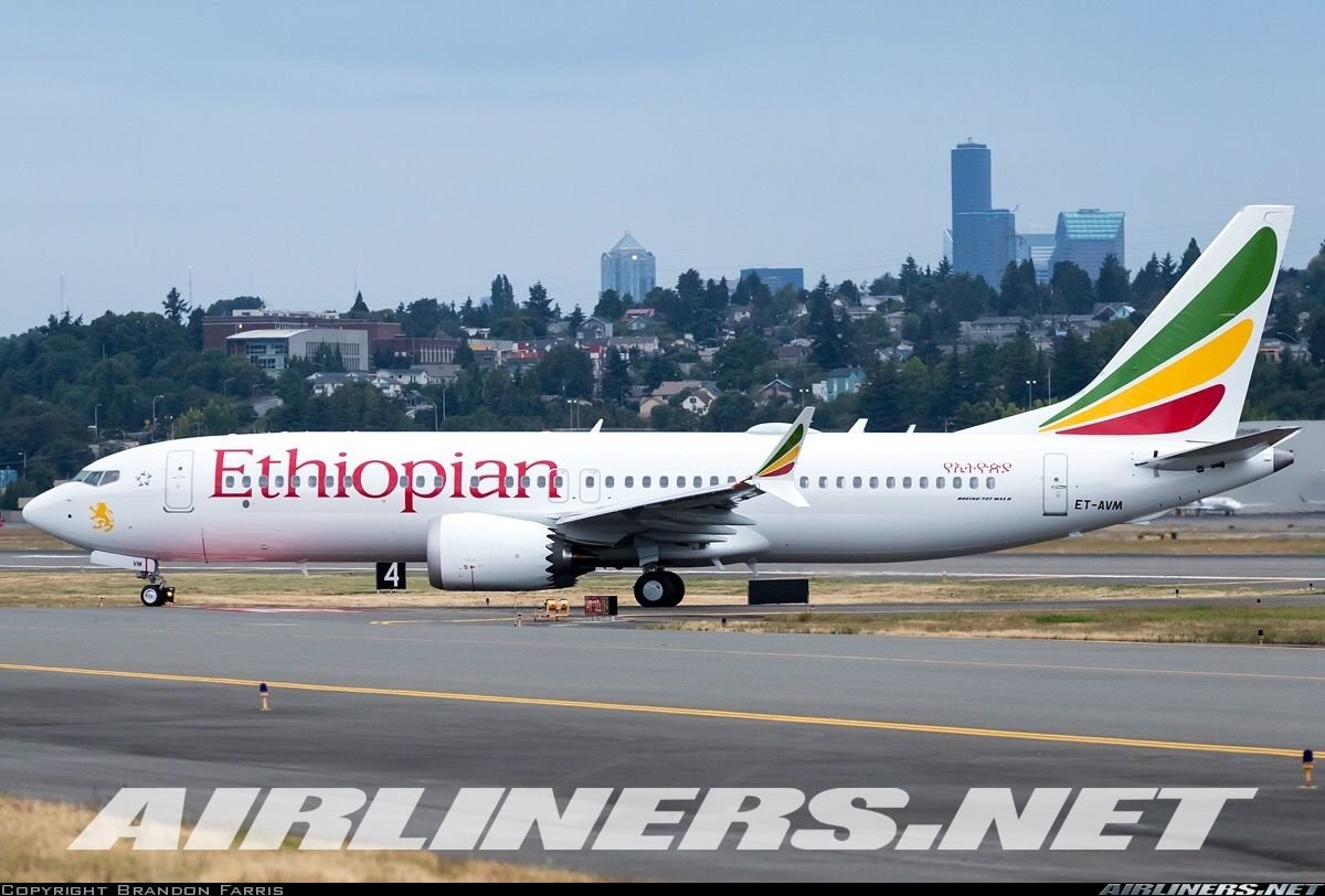 Boeing 737 8 Max Ethiopian Airlines Aviation Photo 5070813