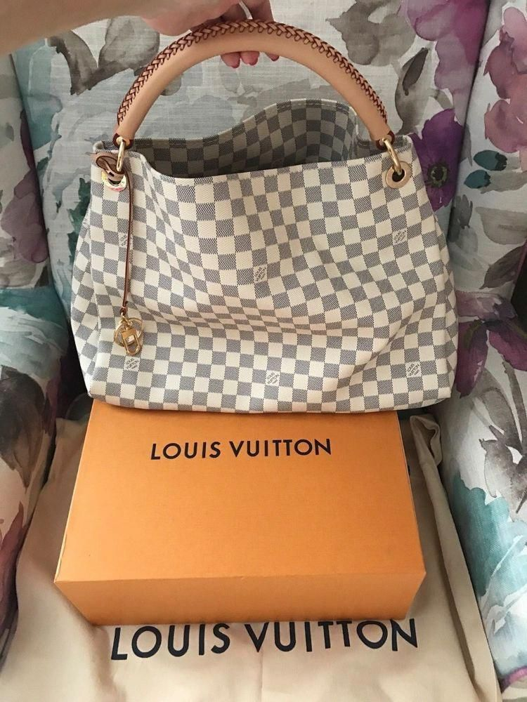 Louis Vuitton Artsy Damier Azur Absolutely New Bag Fashion