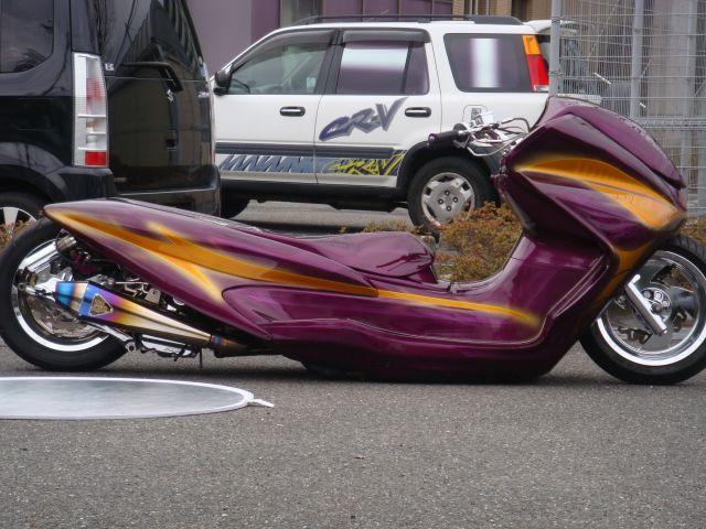 Custom Scooters From Japan Pink Tentacle Scooter Bike Custom Motors Motor Scooters