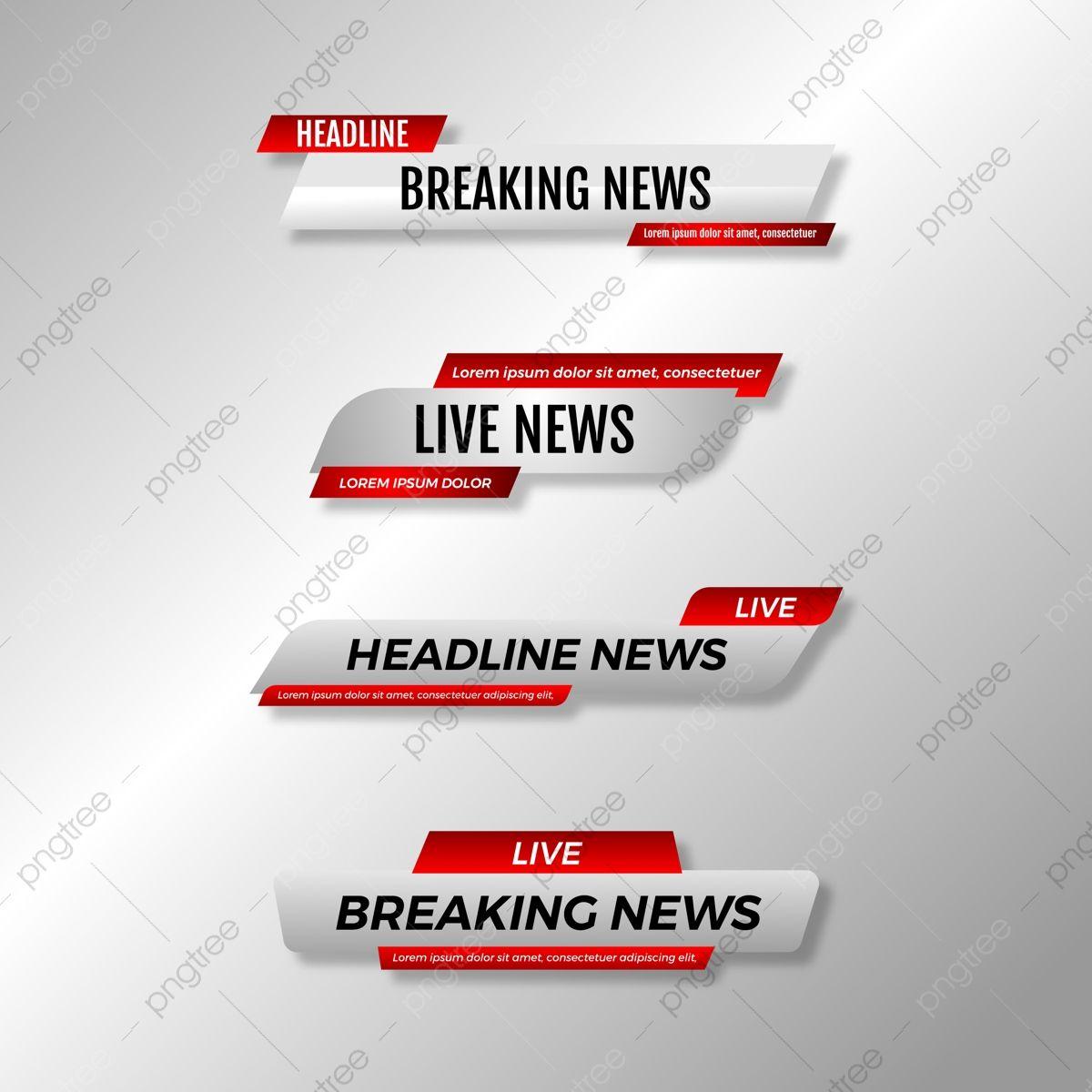 Conjunto De Barras De Noticias De Tv De Tercer Tercio Inferior Television Bar Negocio Png Y Vector Para Descargar Gratis Pngtree Tv News Psd Free Photoshop Bar Set