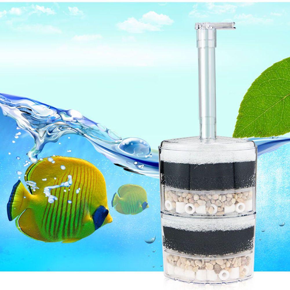 2 5 Layer Biochemical Cotton Filter Fish Aquarium Internal Corner Air Driven Aquarium Filter Aquarium Fish Fish Tank
