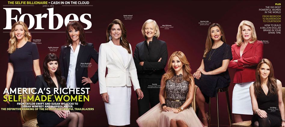 Forbes: America's Richest Self-Made Women 2016