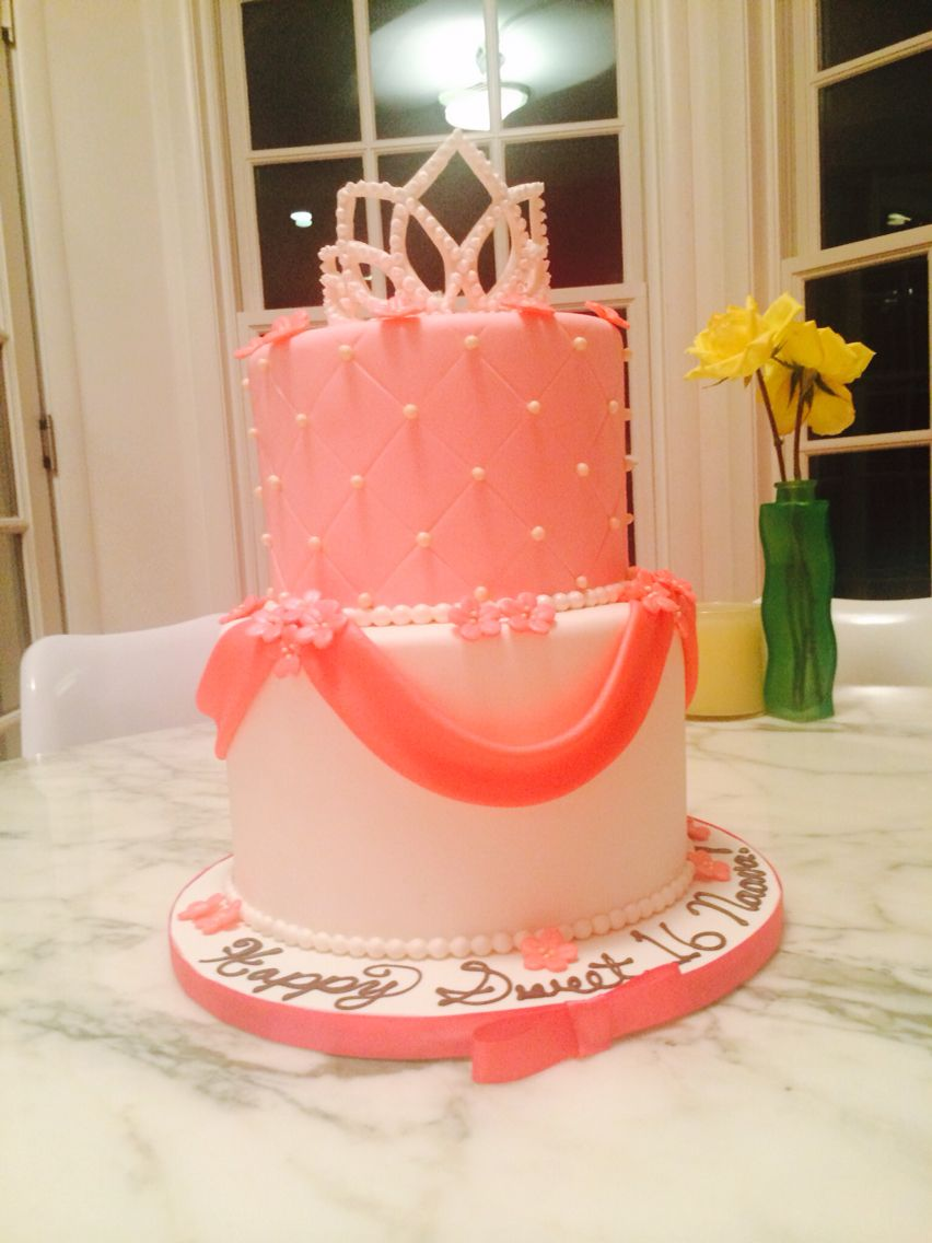 16th birthday cake perfect for an everyday princess
