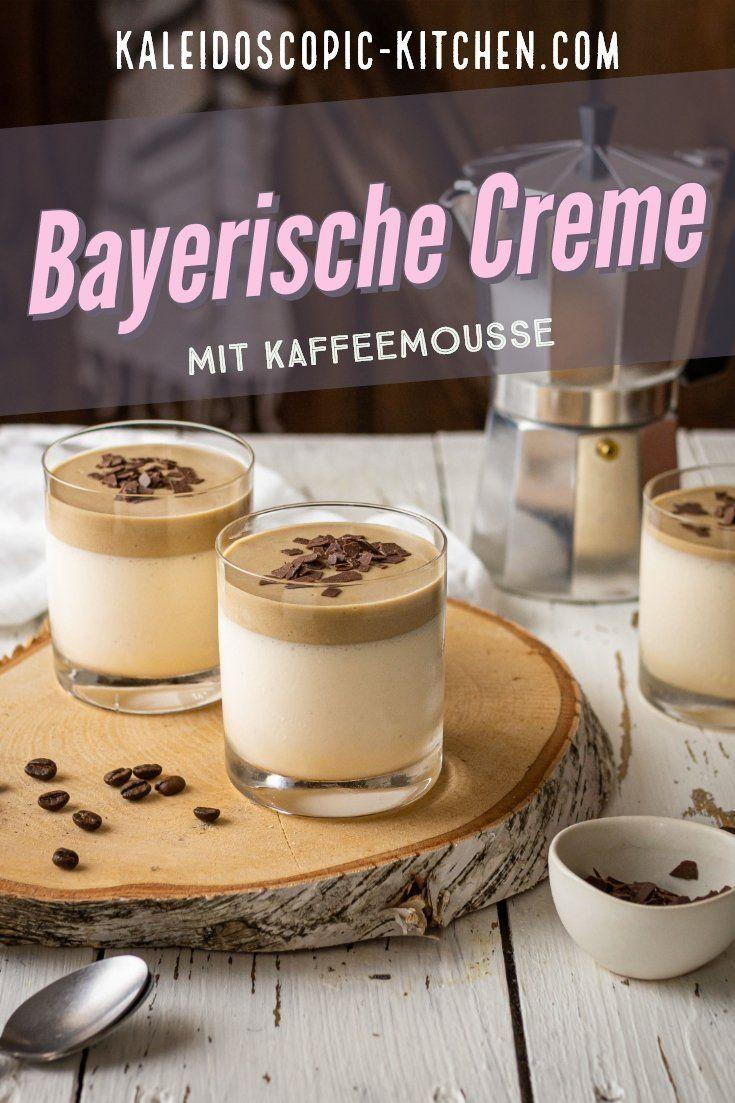 Klassische Bayerische Creme mit Kaffeemousse #lattemacchiato