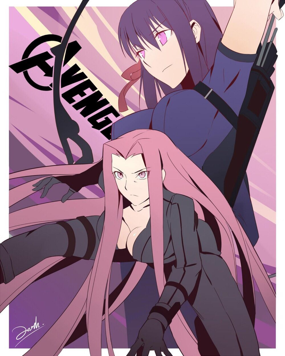 Fate Avengers Crossover Fate Stay Night Crossover Anime Crossover Marvel Fate ingens cor (crossover with harry fate/stay night: fate avengers crossover fate stay