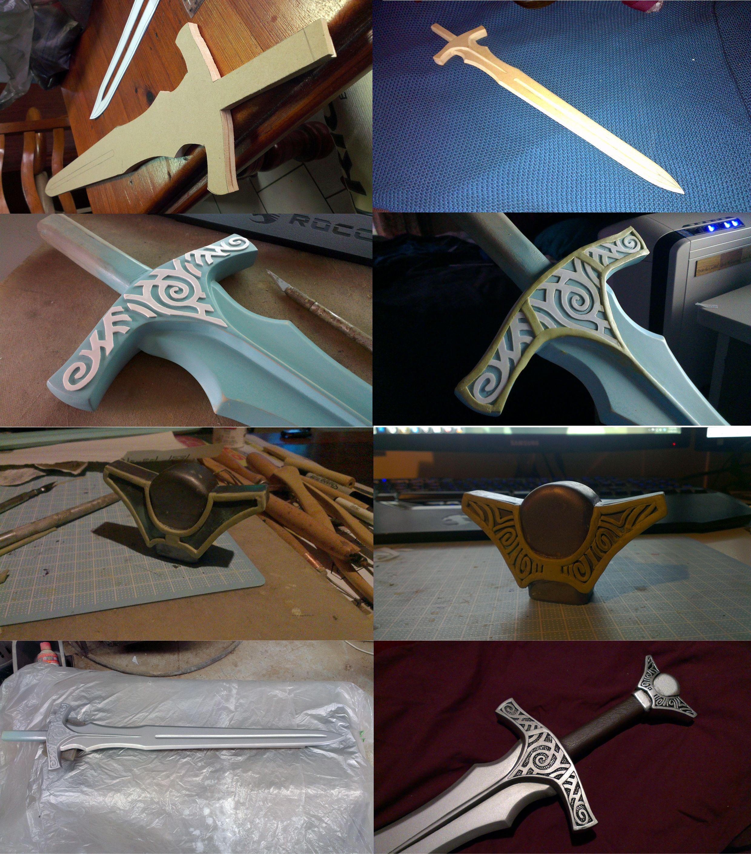 Latex sword tutorial