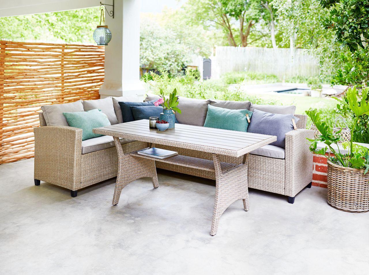 Set Epiplwn Ullehuse 6 Atomwn Fysiko Jysk Conversation Set Outdoor Furniture Sets Corner Sectional Sofa