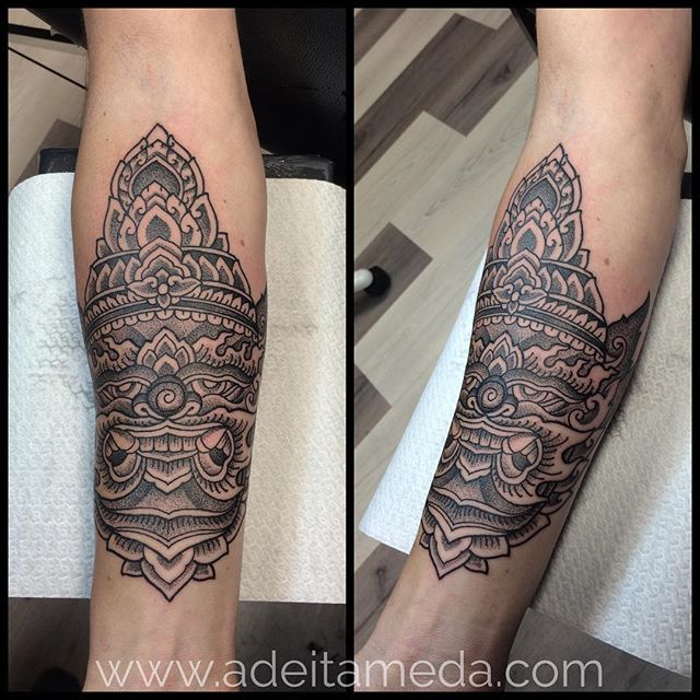 Inspired By Thailand Guardian Demon Thank You Matthijs