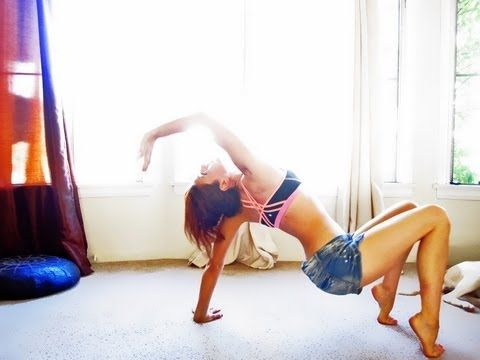 my sunday routine with my favorite russian yoga instructor