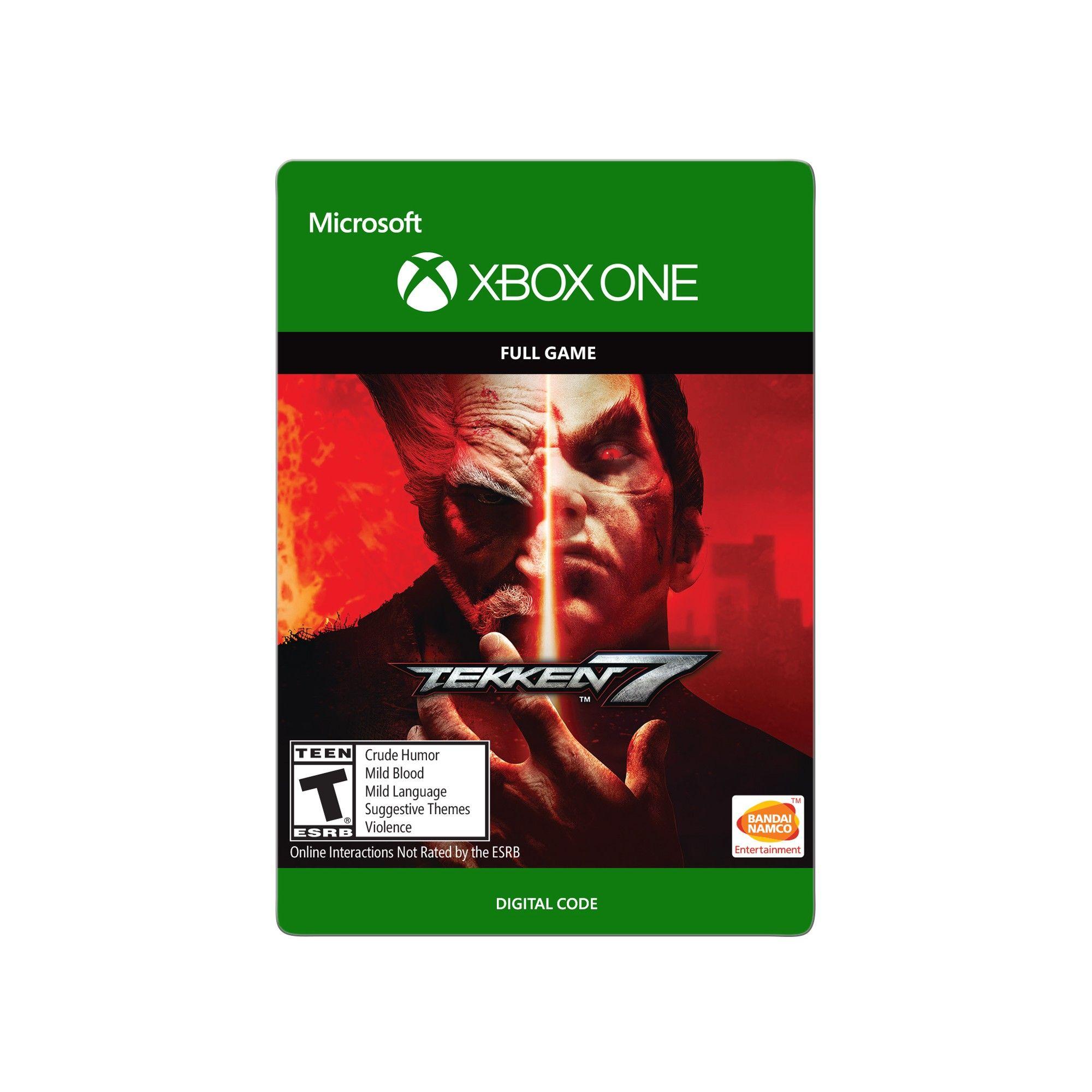 Xbox One Tekken 7 59.99 Email Delivery Tekken 7 xbox