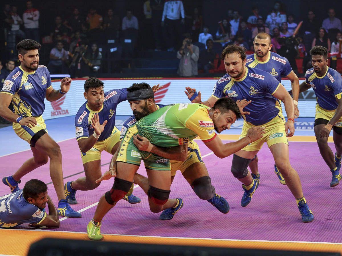 Big sports events today Pro kabaddi league, Latest