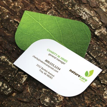 Leaf business cards business card inspiration pinterest leaf business cards colourmoves Image collections