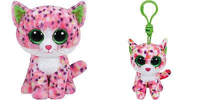Ty Beanie Boos 6 Quot Sophie Pink Cat Beanie Boo Clip Bundle
