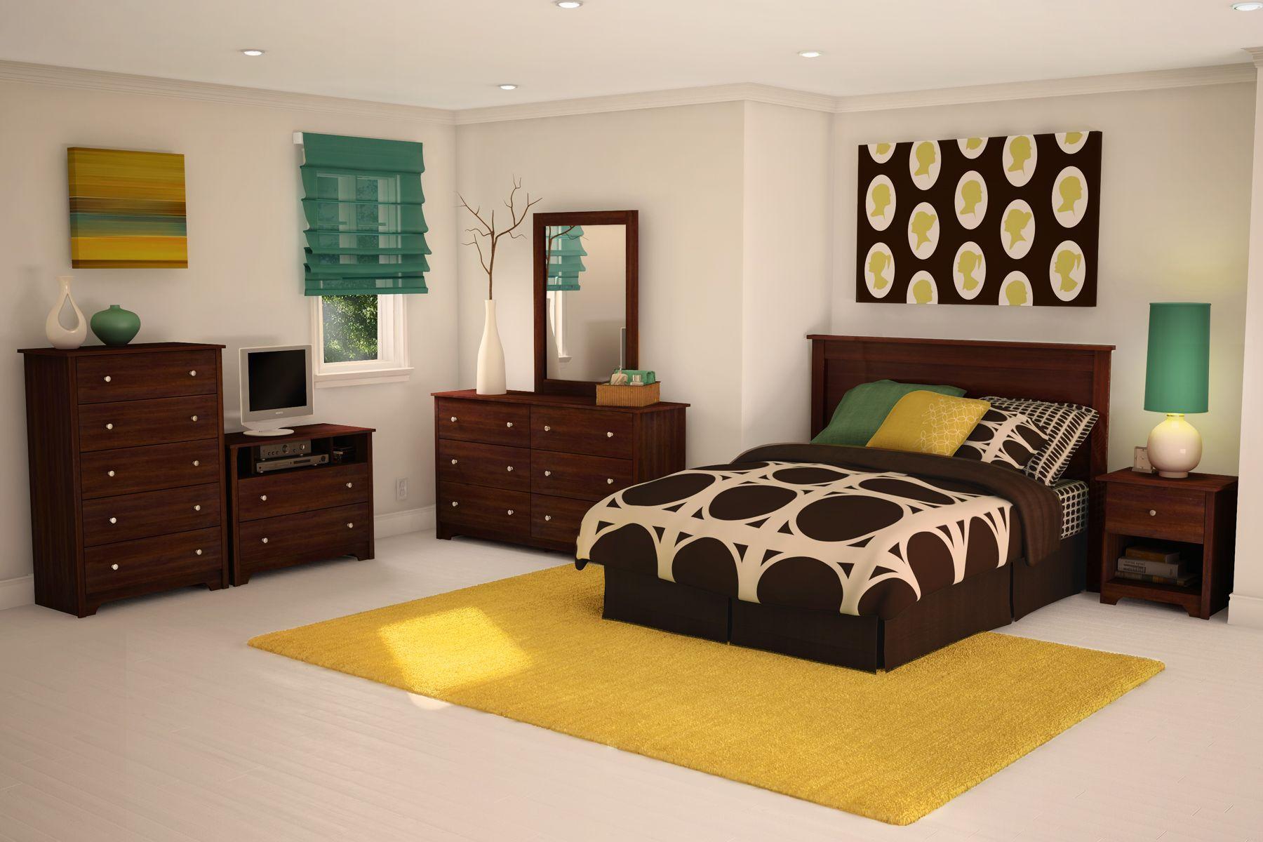 cherry wood bedroom suite Furniture, Modern