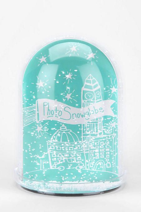 Large Snow Globe Frame By Urban Outfitters Customize Your Own Snow