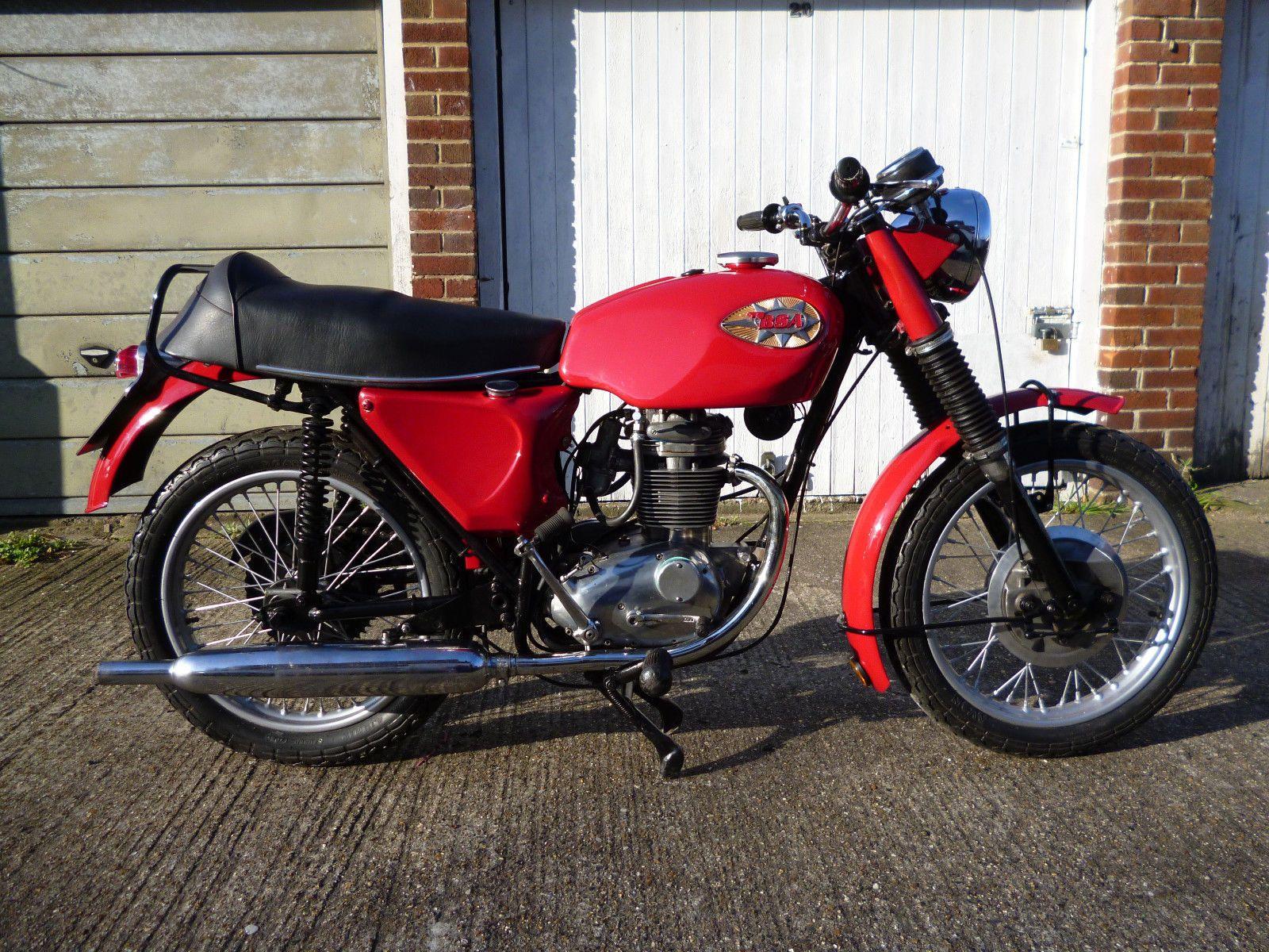 eBay: BSA B25 STARFIRE 250,1969 CLASSIC MOTORCYCLE, MOT'd