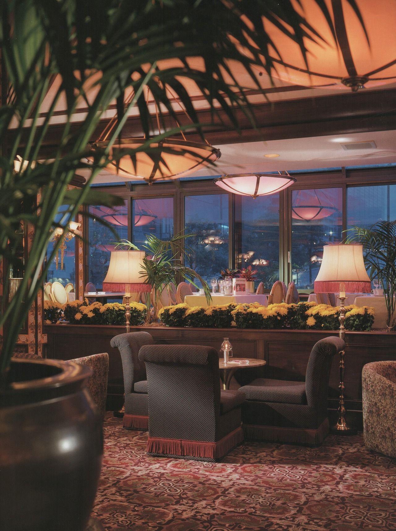 Chez Antoine Montreal Canada From Restaurant Design 1987 Vintage Interior Decor Restaurant Design Trending Decor