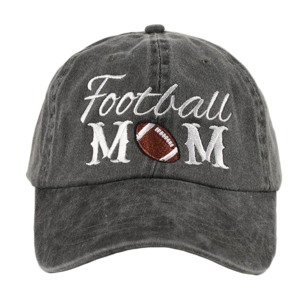 Football mom baseball hat football mom baseball hats
