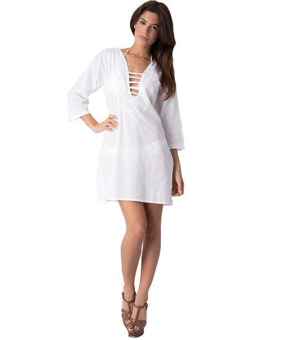 Yuka Beach Morrocan Design Tunic
