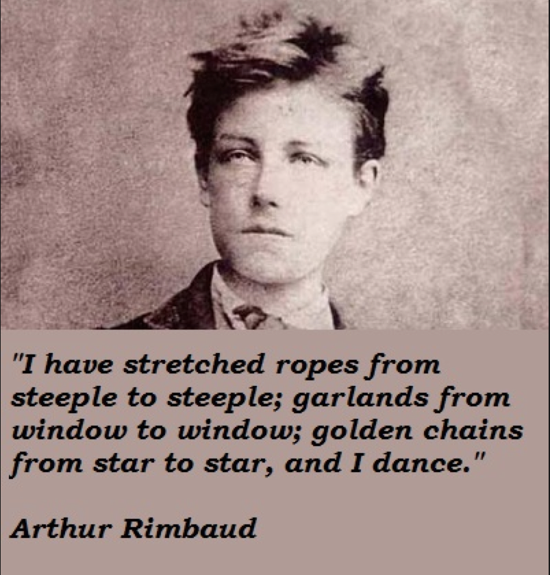 Poet Author Creative: Rimbaud From Les Illuminations