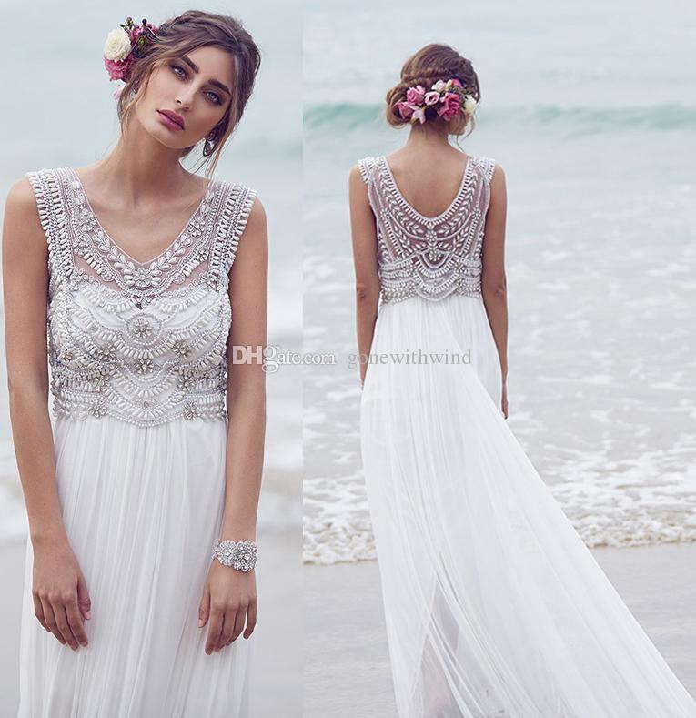 Shop Wedding Dress Bohemian Wedding Dresses Anna Campbell Bridal ...