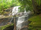 List of North Carolina Waterfalls  Here is an index of all the falls we know about. Click any waterfall's name to go to its page, where you will find a larger picture, a description, statistics, and driving and trail directions for each waterfall where it is available.