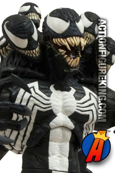 New Venom Figure From Marvel Select Features A Variety Of Ways To