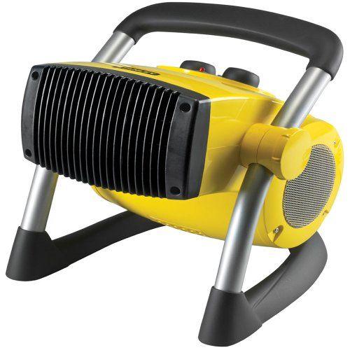 Lasko 675919 Stanley Pro Ceramic Utility Heater 12 Inch Lasko Http Www Amazon Com Dp B005s4n3uc Ref Portable Heater Ceramic Heater Portable Electric Heaters