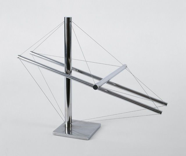 Kenneth Snelson . flat out, 1979