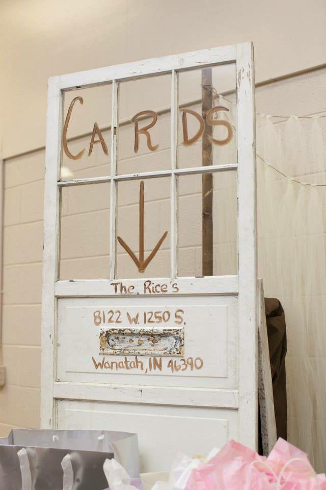 Card box (card door)